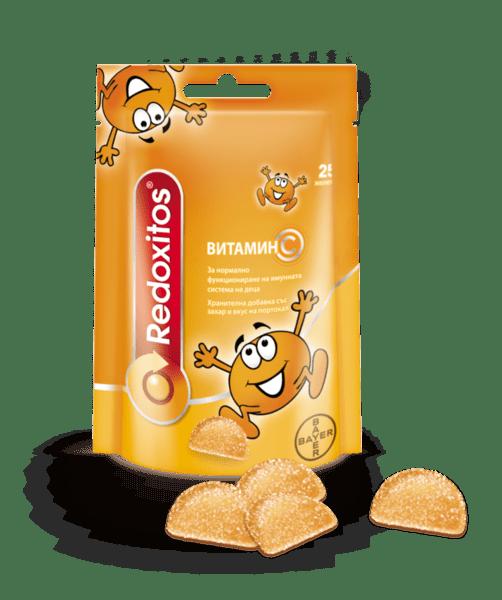 Редокситос (Redoxitos) желирани с Витамин С 30мг x25